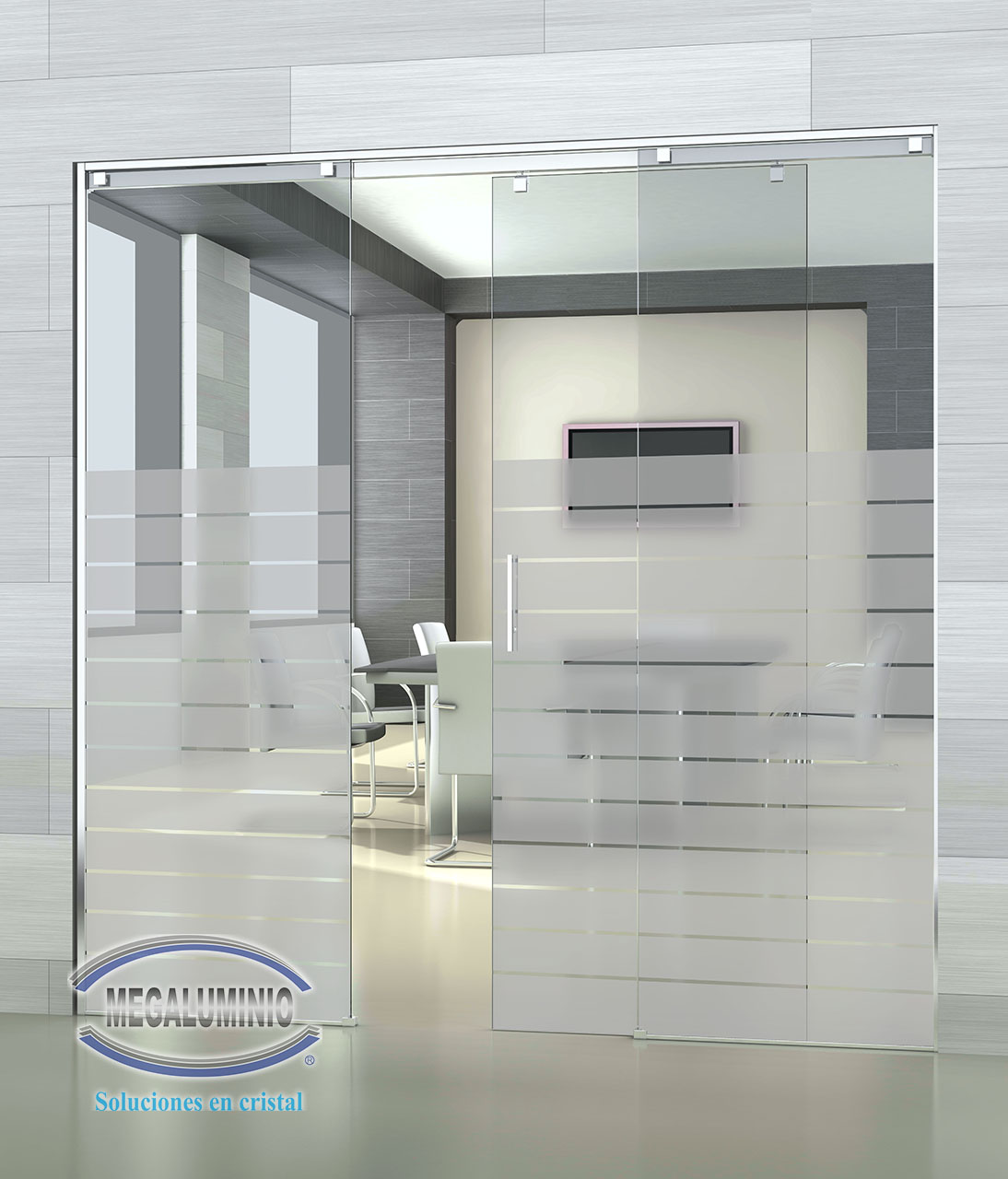 Doors with tempered glass